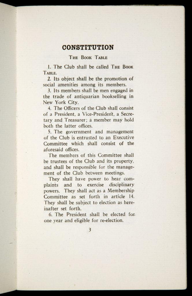 OBT first constitution